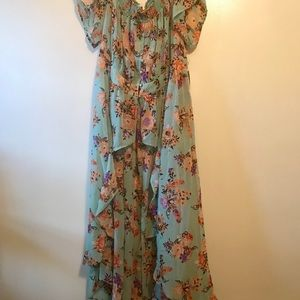 BNWT Truth, NYC Open front Floral Dress